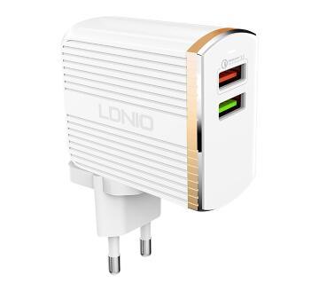 LDNIO A2502Q 30W Dual MICRO USB QC3.0