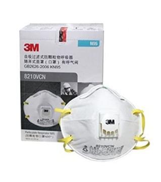 3M 8210VCN NIOSH Respirator Mask 10 pcs