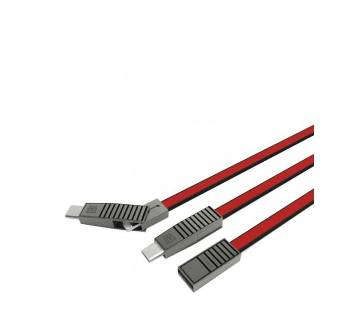 Remax RC-072th Linyo Series 3in1 Data Cable