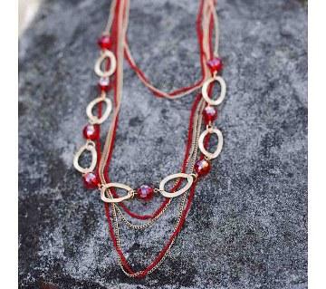 Boishkahi ladies metal necklace