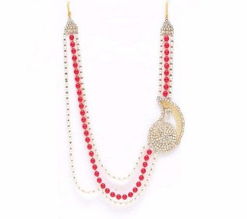 Boishakhi pearl necklace set