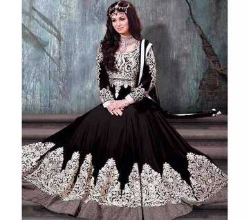 Indian semi stitched replica Georgette three piece-copy