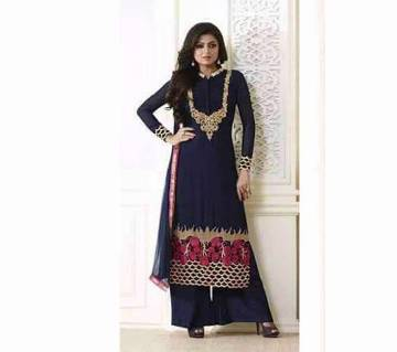 Indian semi stitched replica Georgette three piece