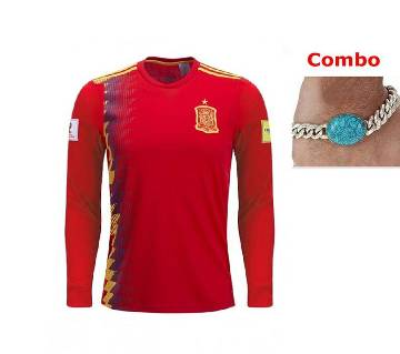 World cup 2018 Spain Jersey  supper combo Offer