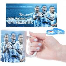 Wold Cup 2018 Argentina Mug Combo Offer