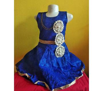 Eid collection indian kids party dress