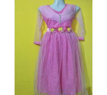 Eid collection indian pink party dress