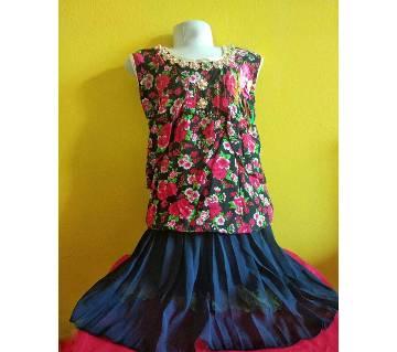 Eid collection  kids skirt set