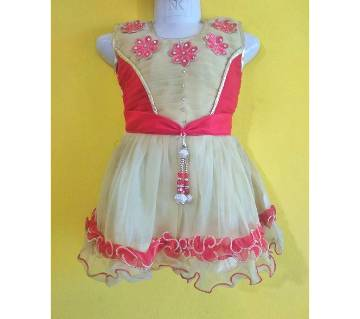 Eid collection exclusive indian party kids dress