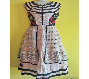 Indian new collection cotton party dress
