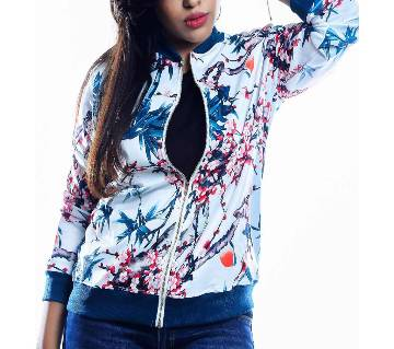 Ladies polyester jacket