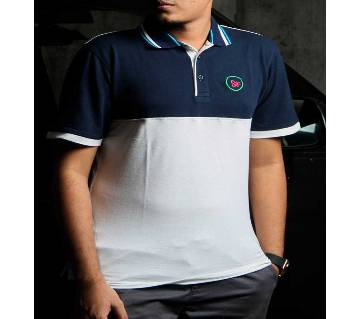 half sleeve polo shirt for men