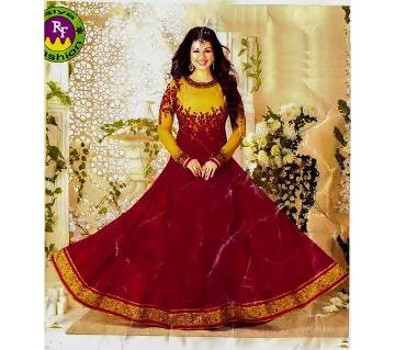 un stitched Georgette salwar kameez- copy