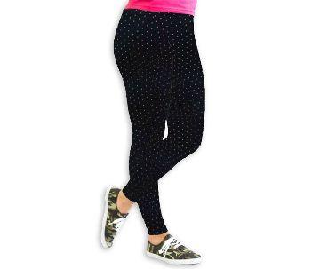 Polka Dot Printed Cotton leggings