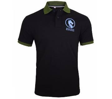 Black gents polo shirt