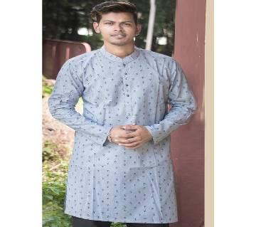 Printed Cotton Panjabi