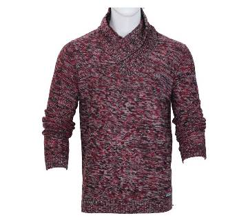 Gents high neck full sleeve sweater