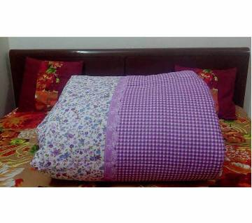 King size double part comforter