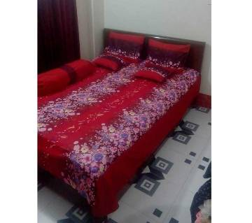 6 pieces king size smart bed sheet set