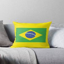 """Brazil কুশন কভার - 16""""X16"""""""
