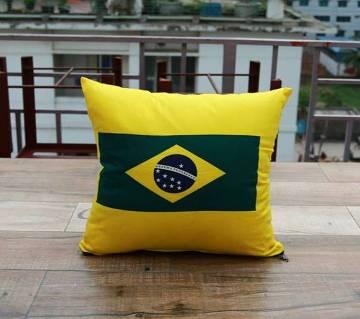 "Brazil প্রিন্টেড কুশন - 16""X16"""