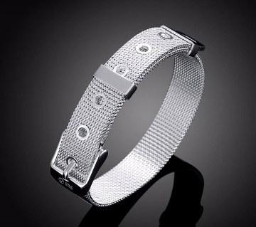 Bijoux Silver Plated Charm Bracelet