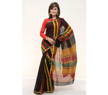 Colorful silk sharee