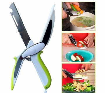 3 in 1 Smart Cutter Knife and Cutting Board