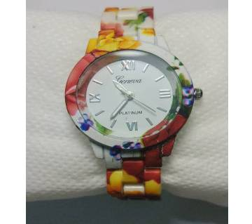 Ladies Printed Wrsit Watch