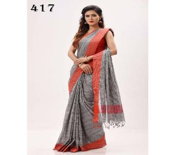 Cotton jhorna Saree For Women