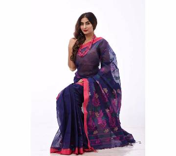 cotton sharee- with blouse piece