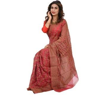 colorful silk jamdani sharee