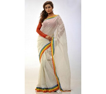 Colorful cotton sharee