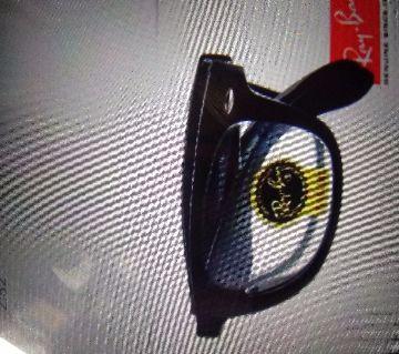 Ray Ban Black & White  Wayfarer Folding  Sunglasses