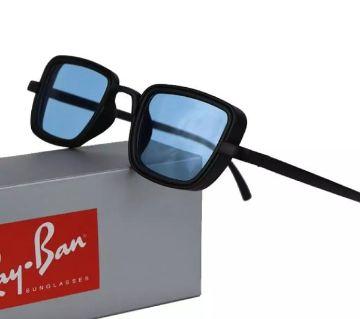 Black Frame Blue Lens Kabir Singh Sunglasses For Men (Copy)