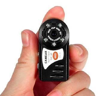 Q7 Wifi Camera HD Night Vision - Black