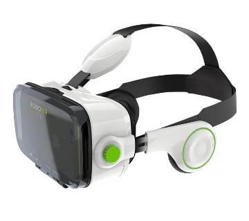 VR Box VR Z4 Virtual Reality 3D Glasses- white