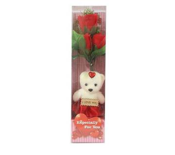 I love you panda doll gift box