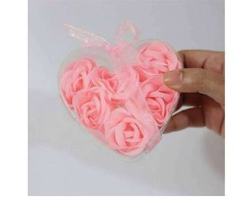 Valentine Gift Flower Soap Box-Pink