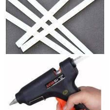 Glue gun with 5 sticks