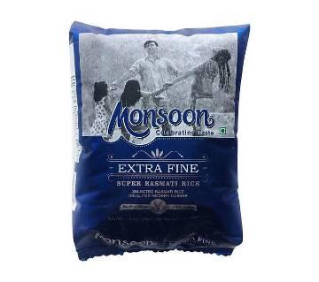 Monsoon বাসমতী চাল ১ কেজি