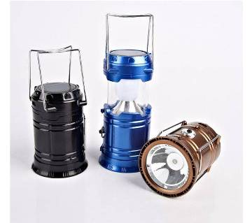 Solar rechargeable light