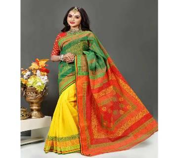 Three Shade Andi Silk Saree