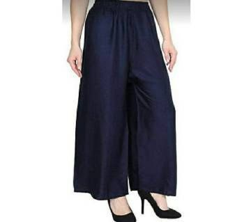 LADIES LILEN SKIRT PLAZO,-black
