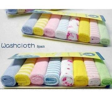 Gerber New Born Baby Towel Set - 8 Pcs
