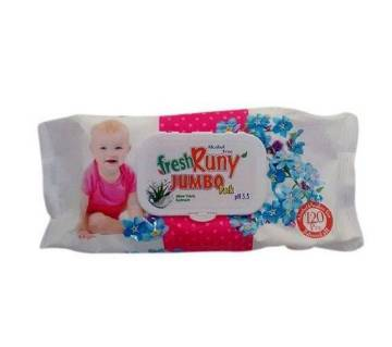 Fresh Funny Baby Wipes -120piece