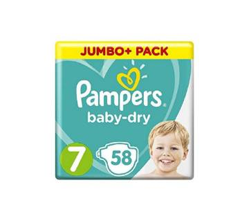Pampers Baby Dry Size 7 (for 15+kg Babies)