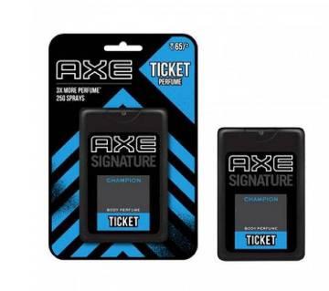 AXE Pocket Perfume Champion for Men 17 ml - India