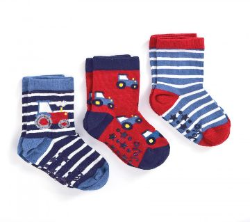 COTTON SOCKS FOR BABY 3 PAIR