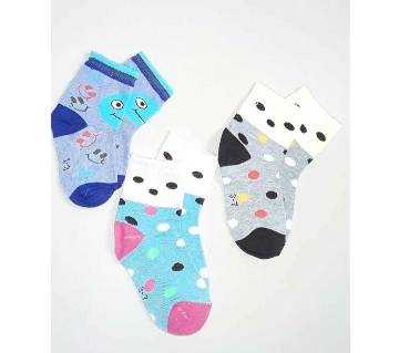 Cotton Socks for Baby - 3 Pair